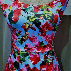 Milly for Design Nation Floral Dress